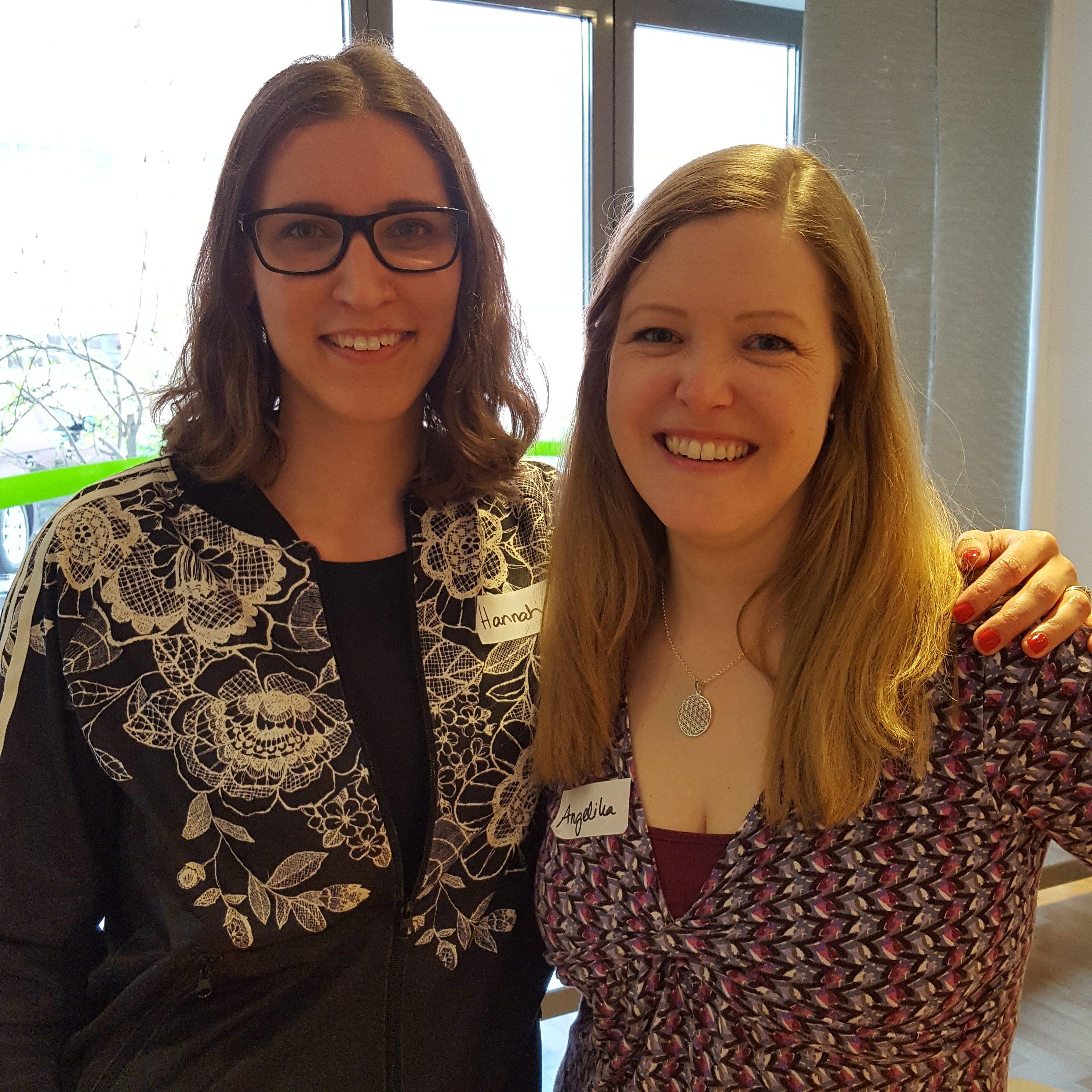 Hannah Frey von Projekt Gesund leben und ich im zuckerfrei Workshop