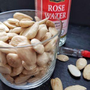 3 Zutaten für zuckerfreies Marzipan