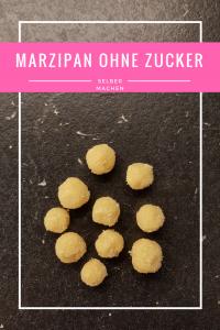 Rezept: Marzipan ohne Zucker selber machen
