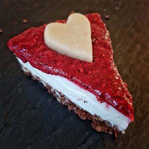 Foto Torte ohne Zucker mit Marzipan