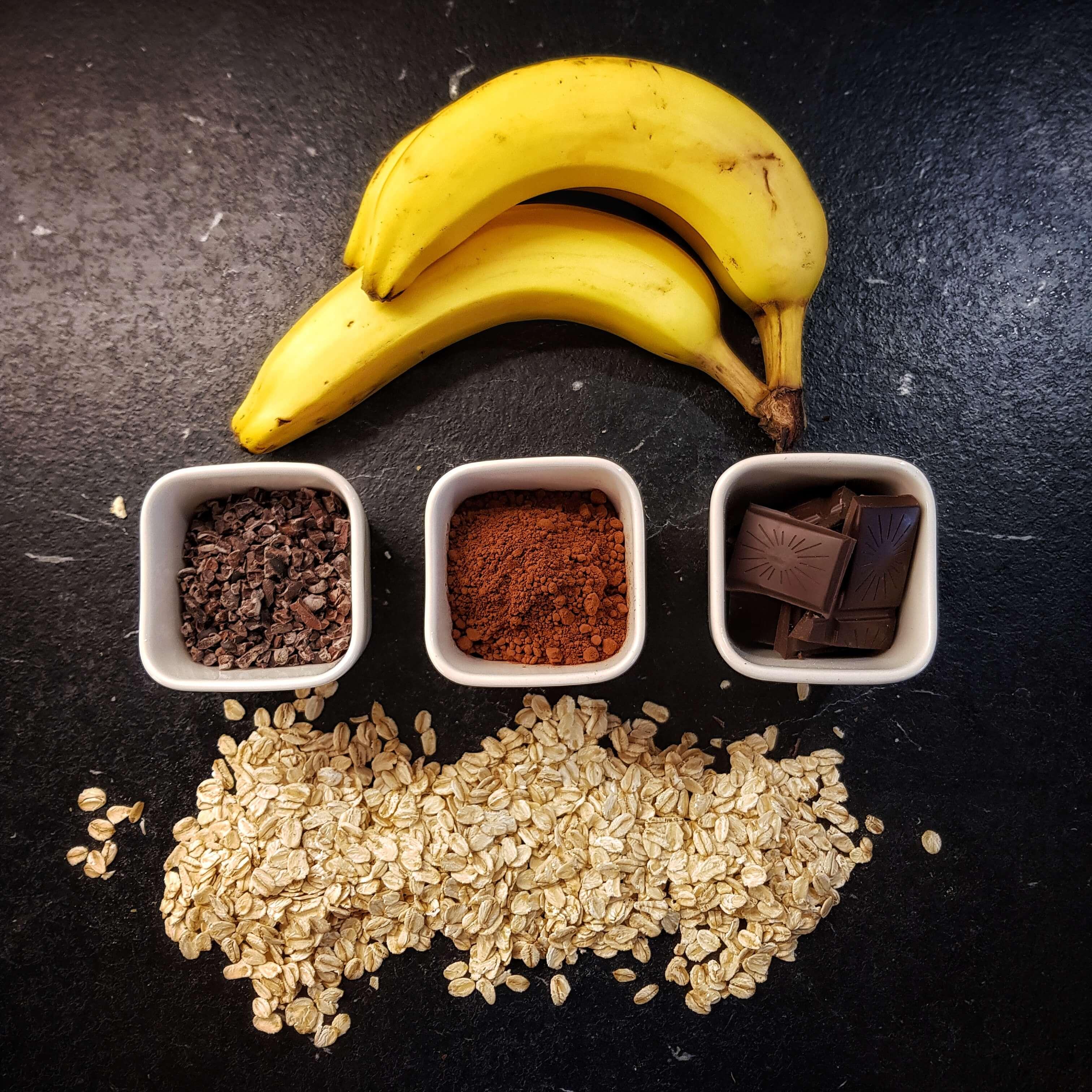 Triple Choc Cookies ohne Zucker mit nur 5 Zutaten