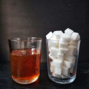 Zuckergehalt Honig in Würfelzucker