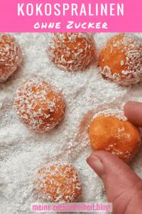 Energiekugeln ohne Datteln: Süßkartoffel-Kokospralinen
