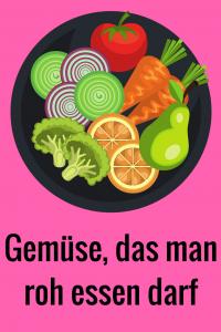 schnelle Gemüsepfanne zubereiten aus Gemüse, das man roh essen kann