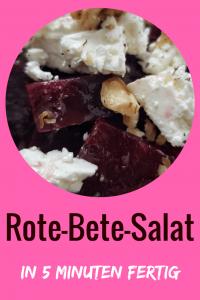 Rezept Rote-Bete-Salat mit Feta und Walnüssen: schnell und einfach