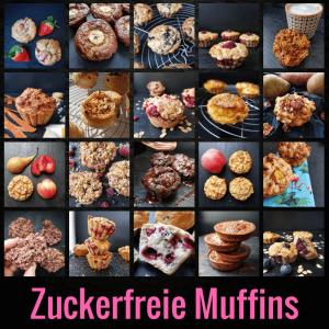 Zuckerfreie Muffins: 20 Rezepte für Muffins ohne Zucker