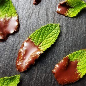 zuckerfreier Minz-Schoko-Snack selber machen