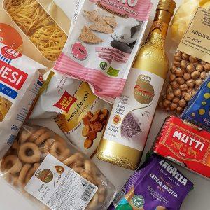 im Urlaub Lebensmittel ohne Zucker kaufen - Italien