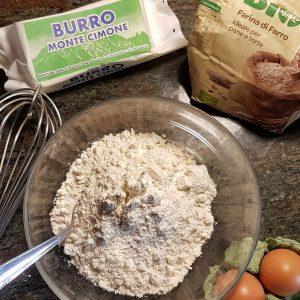 einfacher Rührkuchen ohne Backpulver, ohne Zucker, ohne Küchenmaschine