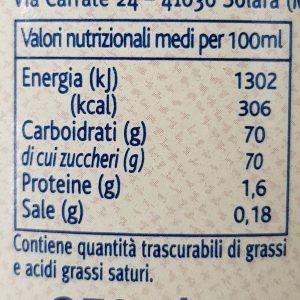 Zuckergehalt Aceto Balsamico di Modena