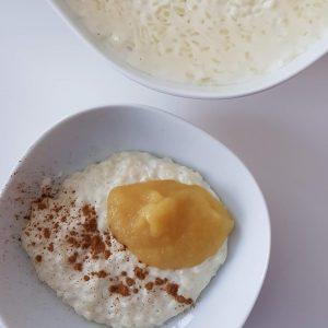 zuckerfrei Milchreis kochen - ganz einfach mit diesem Rezept, das auch meine Kinder mögen
