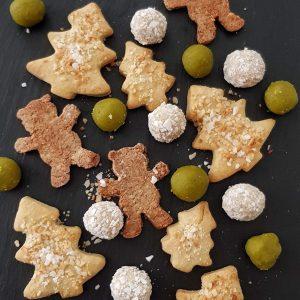 Weihnachten ohne Zucker - zuckerfreie Kekse, Pralinen und Leckereien