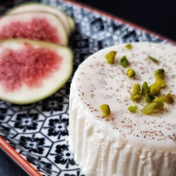 Panna Cotta zuckerfrei, glutenfrei, Low Carb Dessert