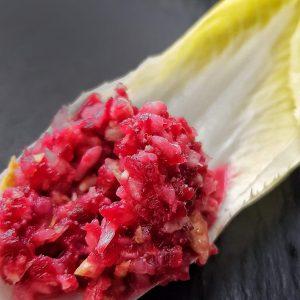 Chicorée zubereiten als Salat (Rezept)