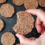 einfaches schnelles Rezept: gesunde Kekse ohne Backen ohne Zucker