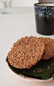 zuckerfreie gesunde Kekse mit Amaranth
