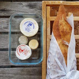 Urlaub zuckerfrei in Frankreich: Käse und Baguette
