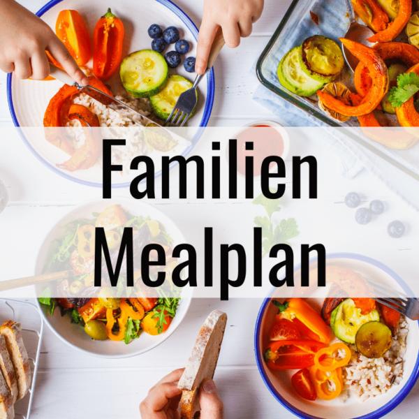 Familien Mealplan Buffet Style