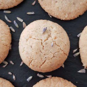 zuckerfreie Kekse: Orange-Lavendel