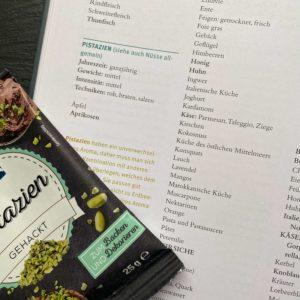 zuckerfreie Rezepte entwickeln: Beispiel Pistazie