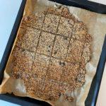 Rezept für Dinkel-Knäckebrot zuckerfrei