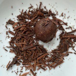 Rezept: Rumkugeln zuckerfrei vegan glutenfrei laktosefrei